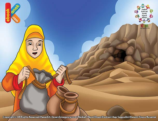 Asma binti Abu Bakar dijuluki Dzaatun nithaaqain, pemilik dua ikat pinggang