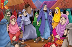 Salman al farisi gubernur yang jadi kuli angkut
