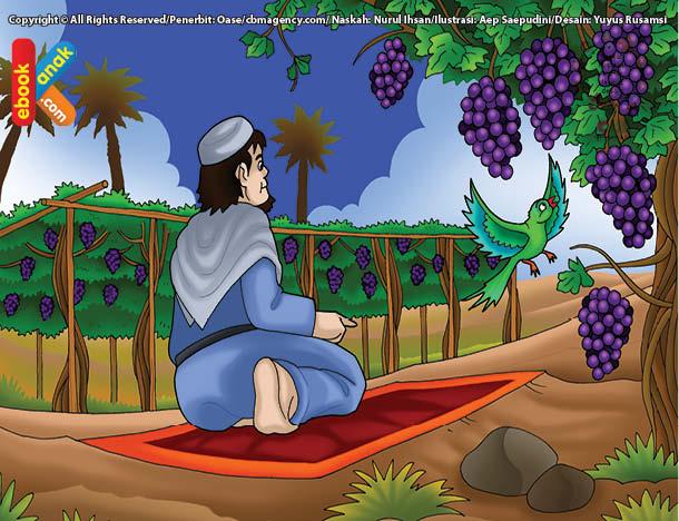 Ilustrasi Sedekah Abu Thalhah Karena Shalat Kurang Khusuk