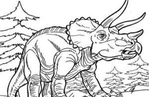 Triceratops, Dinosaurus Ksatria