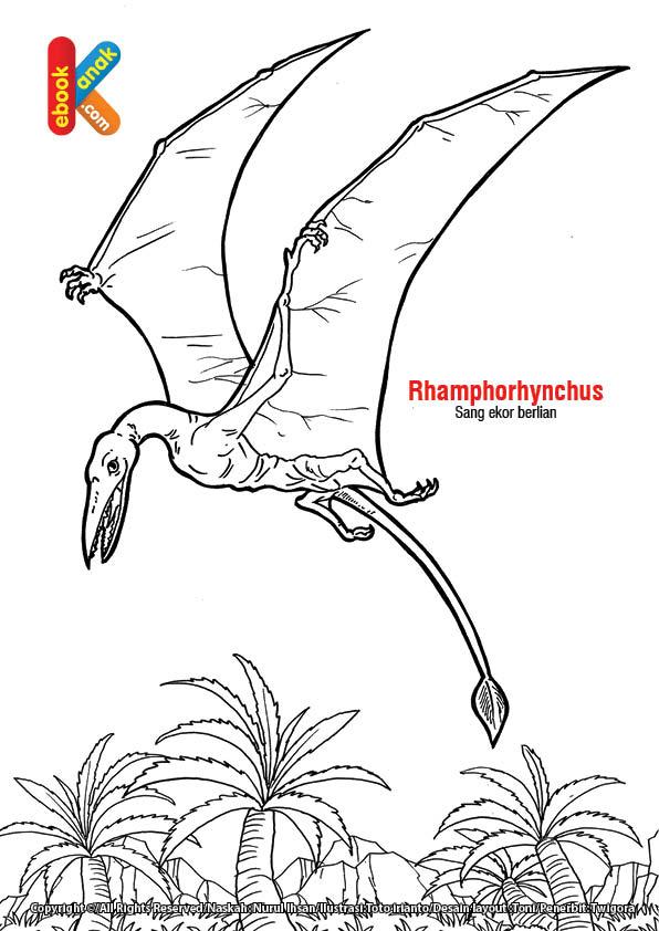 Reptil Terbang Rhamphorhynchus, Si Ekor Berlian
