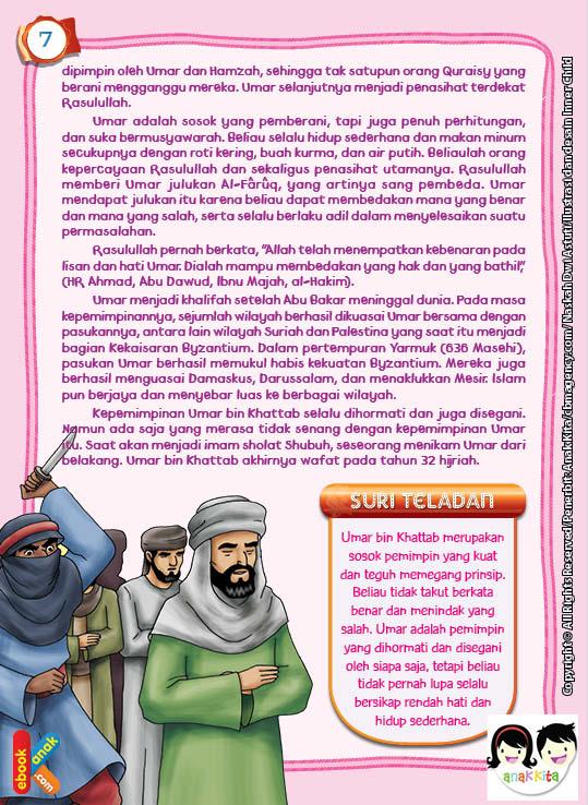 Umar bin Khattab adalah orang kepercayaan Rasulullah saw