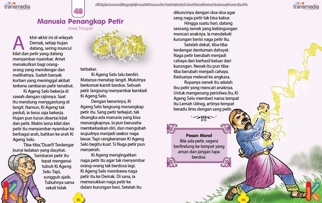 Cerita Rakyat Nusantara Dongeng Anak Dunia :: CONTOH TEKS