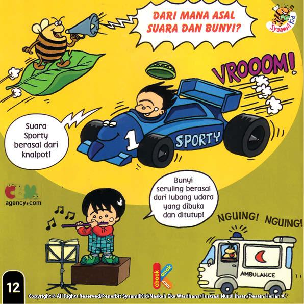 Suara Mobil Balap berasal dari knalpot