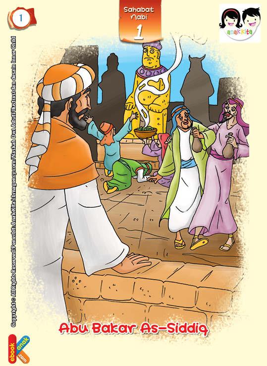 As-Siddiq artinya yang membenarkan atau memercayai