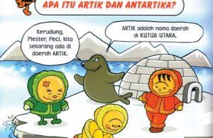 Jika di Artik sedang musim panas di Antartika musim dingin