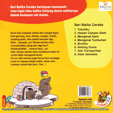 download ebook sinopsis buku seri balita cerdas bumiku