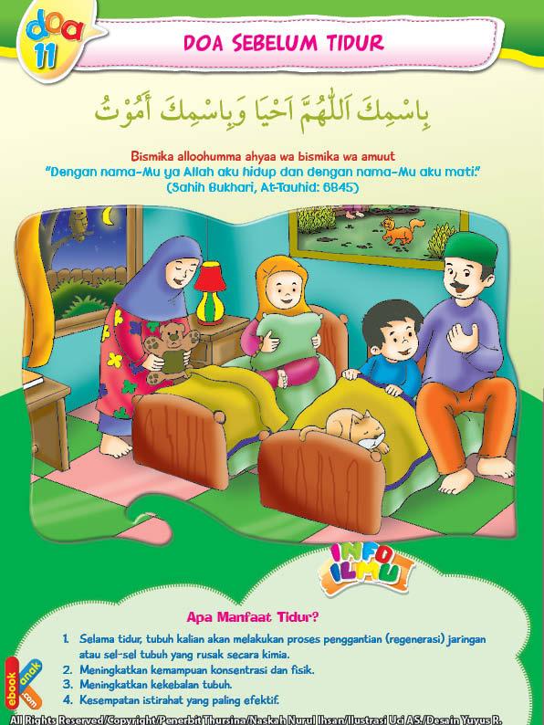 adab sebelum tidur anak laki-laki dan anak perempuan setelah berumur 6 tahun hendaknya tidur terpisah
