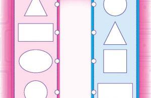 Belajar matematika mahir mengenal konsep warna dan bentuk bangun