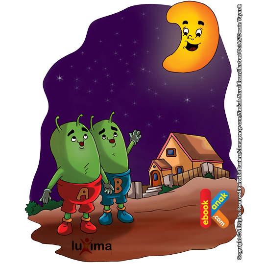 Bulan berusia sekitar 4,5 miliar tahun tak lama setelah pembentukan bumi.