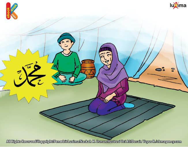 Muhammad hidup selalu menghirup udara Gurun Sahara yang segar pada pagi hari
