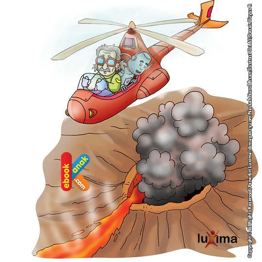 Gunung Mauna Loa telah meletus sejak 700 ribu tahun silam