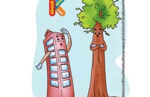 Tinggi pohon Sequoia raksasa 237 kaki atau setara dengan ketinggian 20 lantai