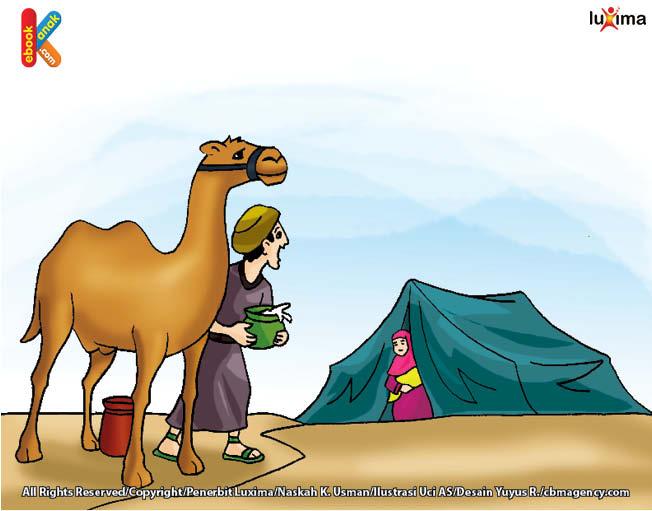 keledai milik halimah kurus kering
