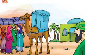 Keluarga Bani Najjar melarang Aminah melanjutkan perjalanan karena cuaca sangat buruk