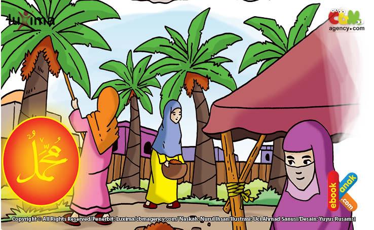 Ummu Habibah Ramlah binti Abu Sufyan Ia seorang janda dari Ubadillah bin Jahsyi yang pernah ikut hijrah ke negeri Habasyah.
