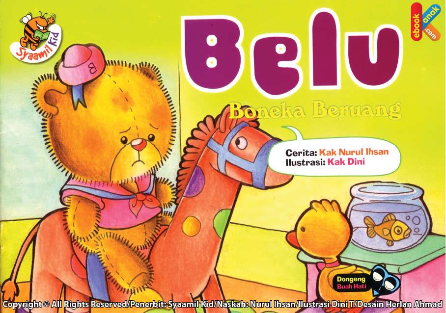 kenapa semua mainan menjauhi Belu boneka beruang? Oh, oh, ternyata belu kotor dan bau. apa yang harus belu lakukan?