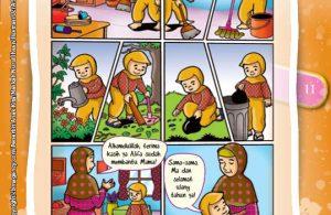 Rasulullah Saw. ditanya tentang peranan kedua orangtua