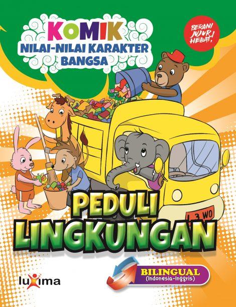 Download Gratis Ebook Komik Peduli Lingkungan Ebook Anak