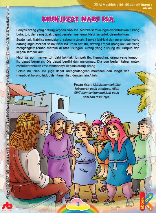 Banyak laki-laki dan perempuan yang datang ingin melihat sosok Nabi Isa alaihissalam