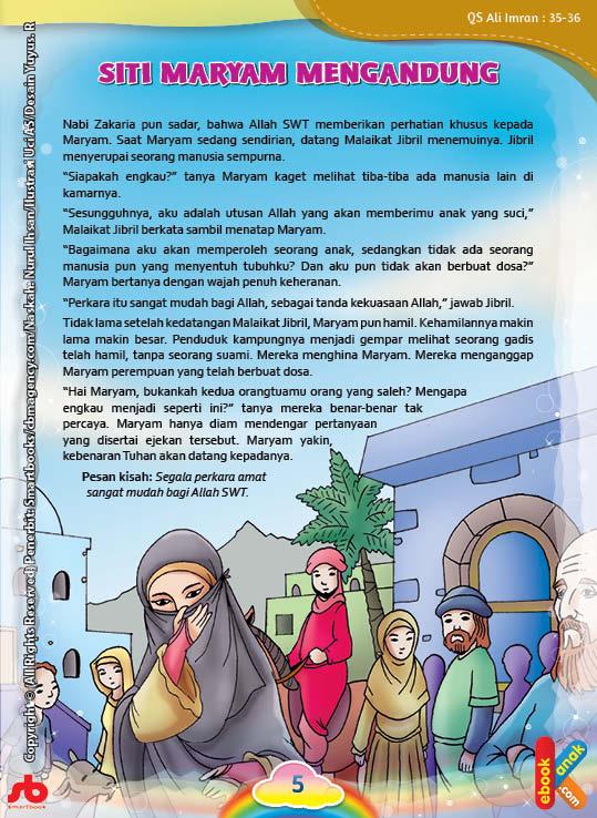 Mereka menghina Maryam karena hamil tanpa suami