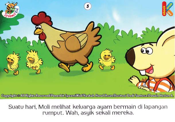 download gratis ebook moli si tikus tanah dan keluarga ayam