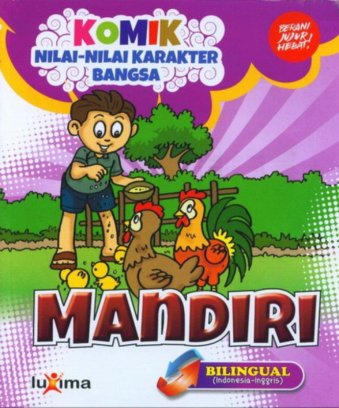download gratis ebook komik nilai nilai karakter bangsa mandiri bilingual
