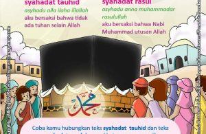 Download Gratis Worksheet Jenis Syahadatain
