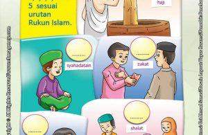 Download Gratis Worksheet Urutan Rukun Islam