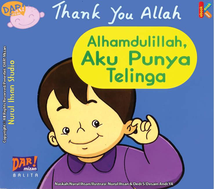 Baca Online Ebook untuk balita Alhamdulillah aku punya telinga