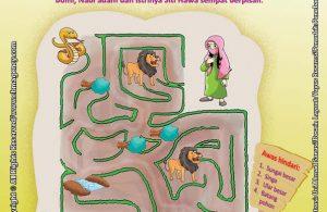 Download Gratis Worksheet Nabi Adam