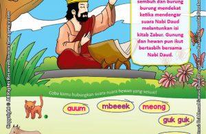 Download Gratis Worksheet Nabi Daud