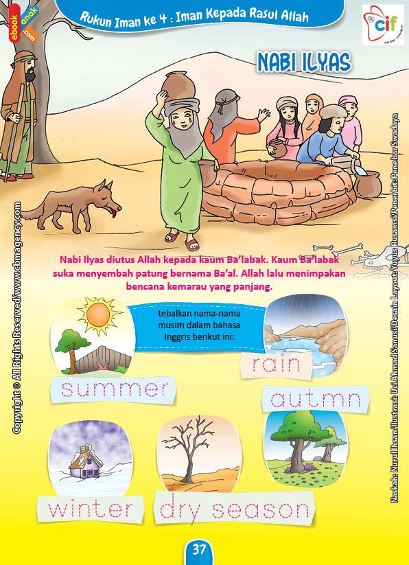 Download Gratis Worksheet Nabi Ilyas