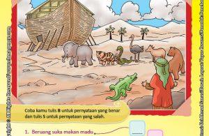 Download Gratis Worksheet Nabi Nuh