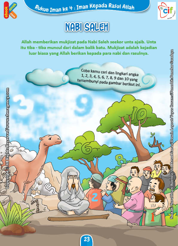 Download Gratis Worksheet Nabi Saleh