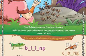 Download Gratis Worksheet Nabi Sulaiman
