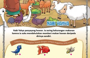 Download Gratis Worksheet Nabi Yahya