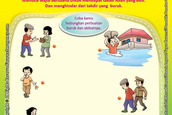 Download Gratis Worksheet Takdir yang Buruk