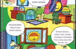 Anak Shalih Rajin Shalat Sunnah di Rumah.