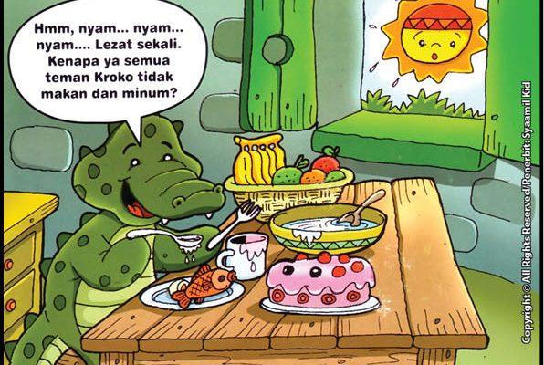 Kenapa Di Bulan Ramadhan Teman Kroko Buaya Tidak Makan dan Minum?