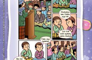 Komik Hadits Jangan Berkata 'Diamlah' Jika Imam Sedang Khutbah Jumat