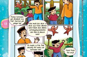 Komik Hadits Larangan Membunuh Binatang Tanpa Hak