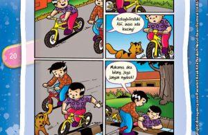 komik, penerbit anak kita, komik 100 hadits pilihan untuk anak,