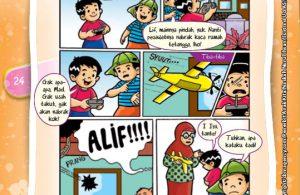 Komik Hadits Hormati Tetangga Tanda Iman Pada Allah