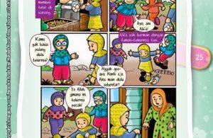Komik Hadits Berjihad Kepada Orang Tua Termasuk Jihad