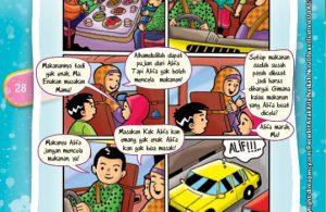 Komik Hadits Rasul Tak Pernah Mencela Makanan