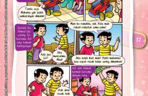 Komik Hadits Riya Termasuk Syirik Kecil