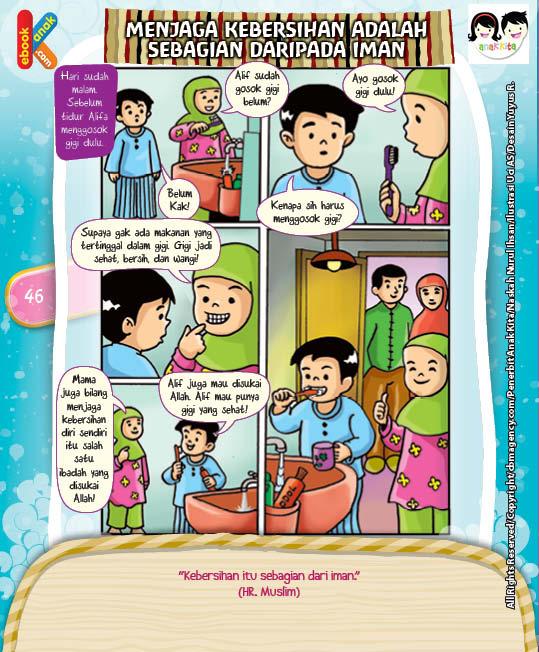 Komik Hadits Kebersihan Sebagian dari Iman