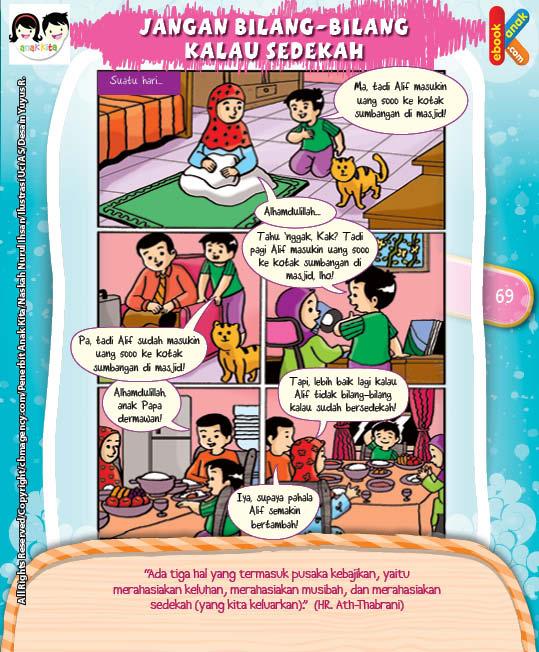 Komik Hadits Tiga Rahasia Pusaka Kebajikan