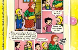 Komik Hadits Lima Kewajiban Sesama Muslim